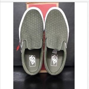 5e5310390601ad Vans Shoes - Vans Classic Slip On Suede Embossed Weave Grape